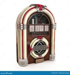 retro vintage jukebox on a white background 3d model royalty free illustration [ 1300 x 1390 Pixel ]