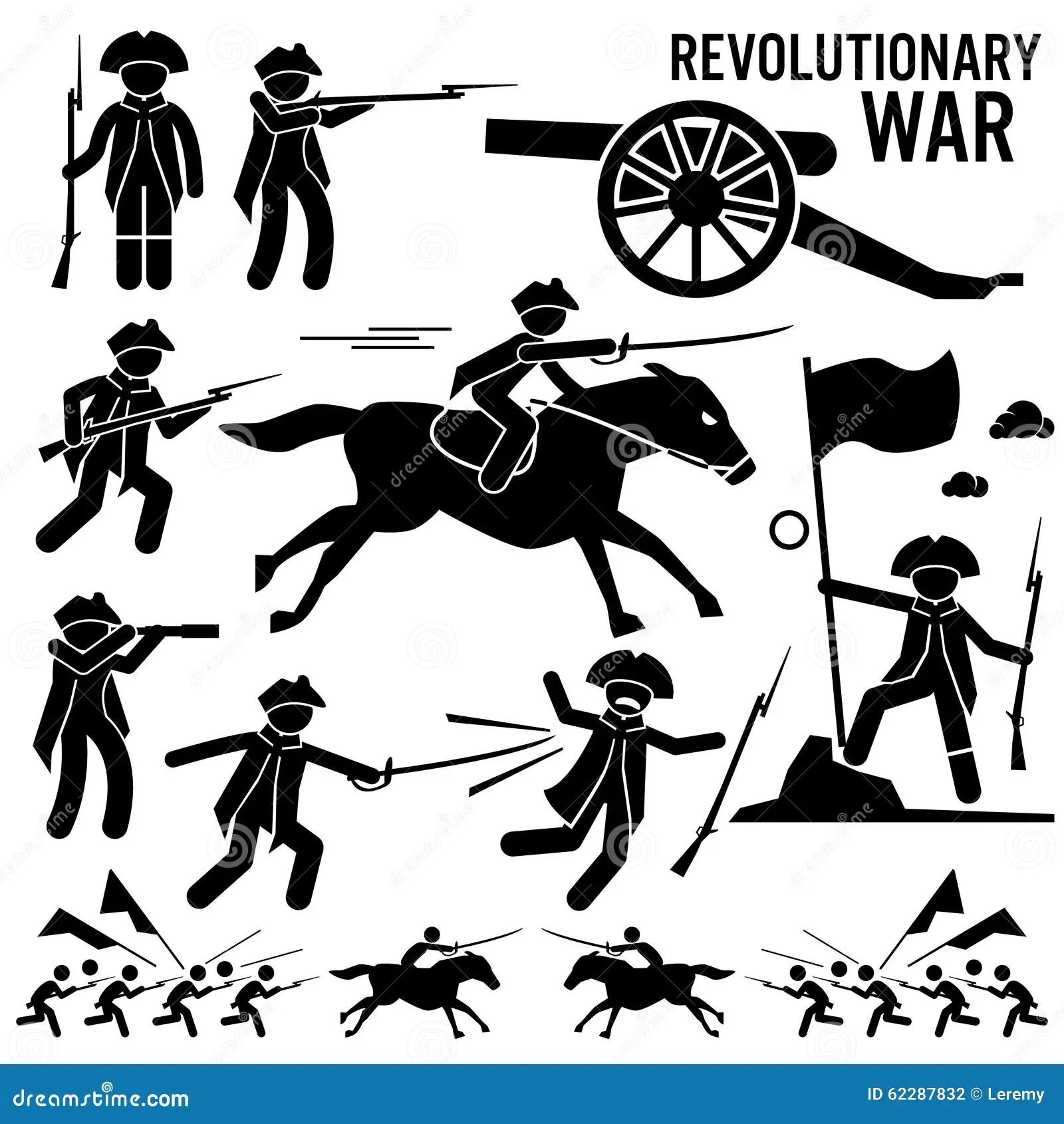 Revolutionary War Sol R Horse Gun Sword Fight