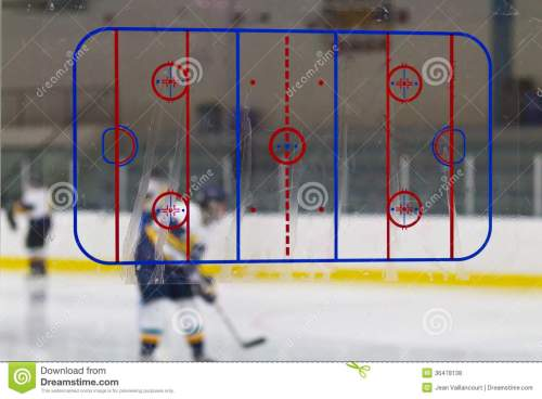 small resolution of rink diagram at an ice hockey arena rink diagram on the glass at an ice