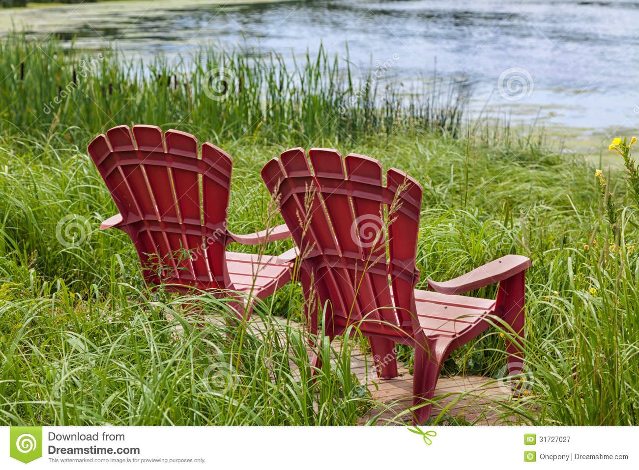 new river adirondack chairs american girl chair royalty free stock photography image 31727027