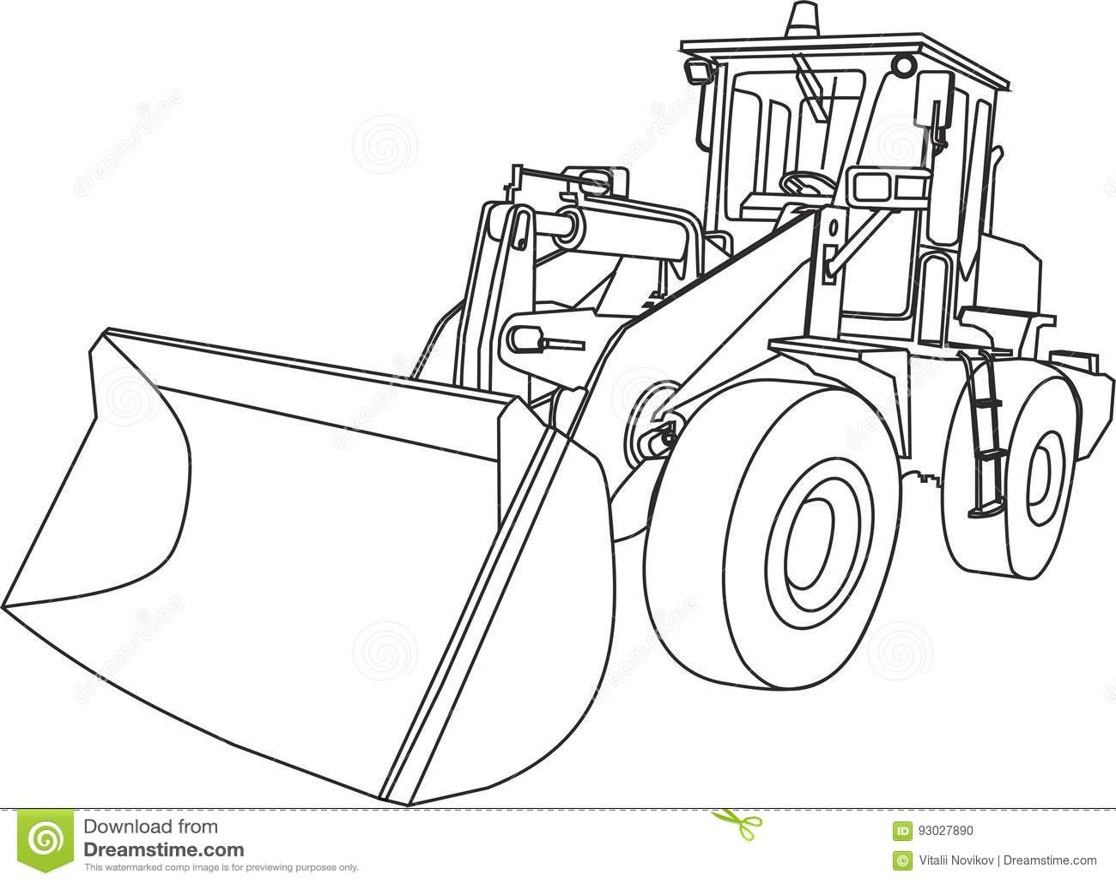 The Road Machine Stock Vector Image Of Renewal Road