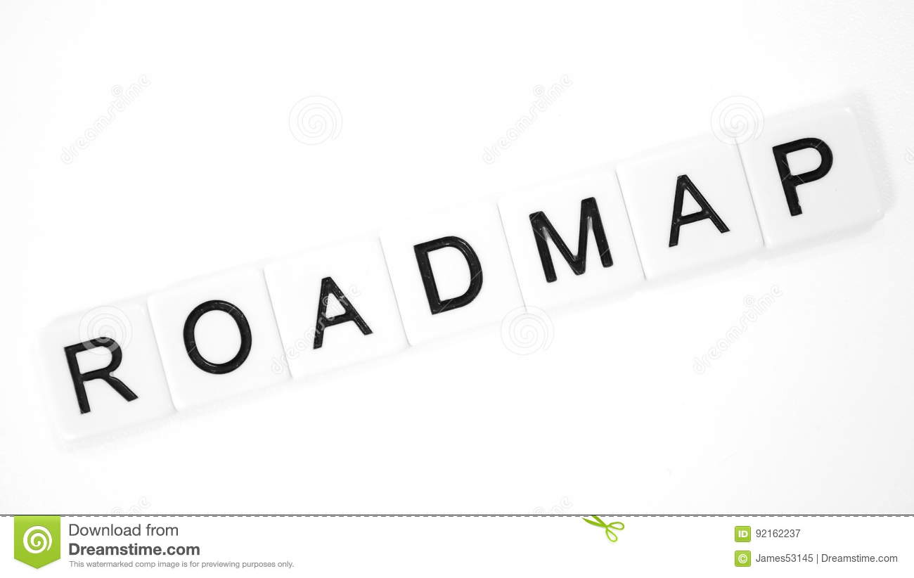 Roadmap Stock Image Image Of Direction Route Steps
