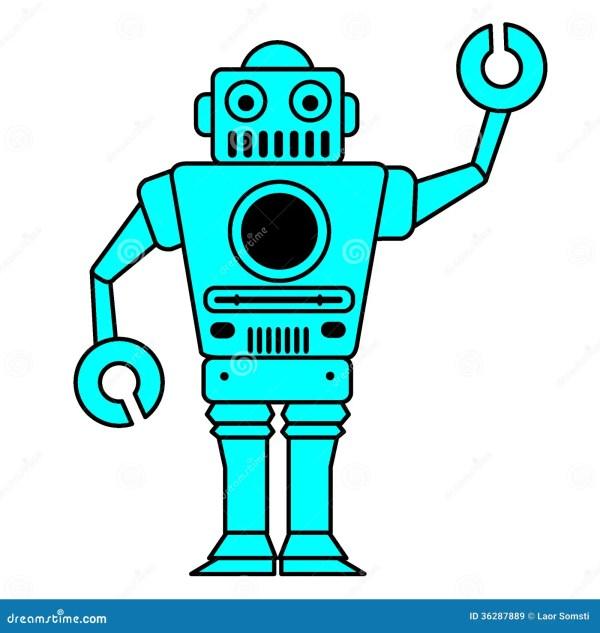 Robots Royalty Free Stock - 36287889