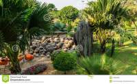 Rock-garden Of Park Nong Nooch Tropical Garden Thailand ...
