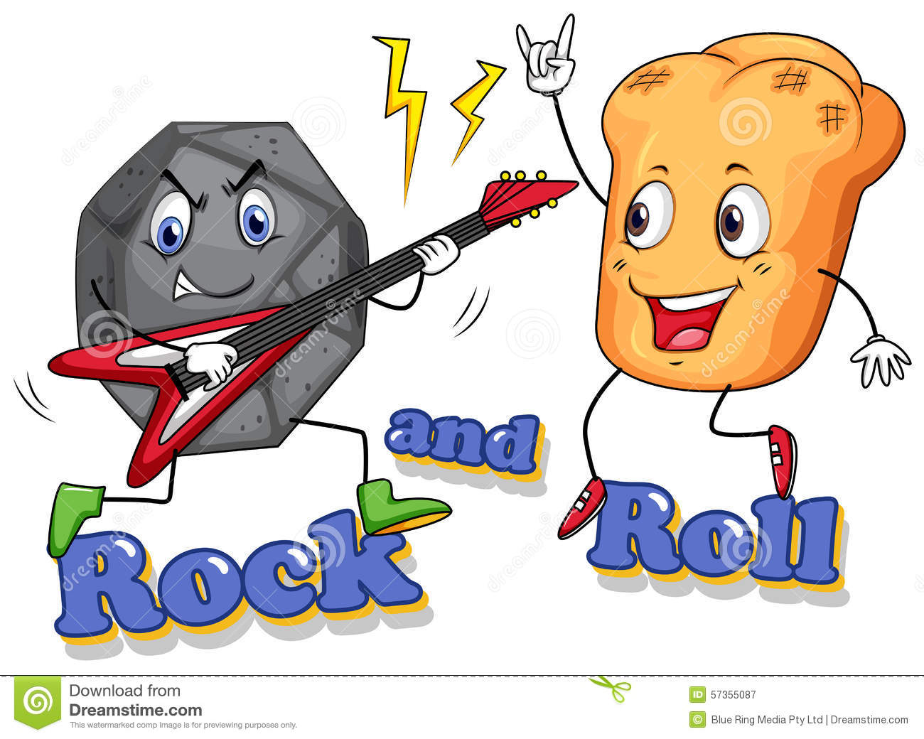 hight resolution of rock and roll