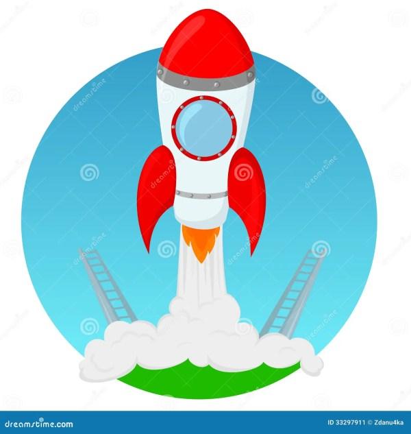 Rocket Launch Stock - 33297911