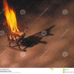 Wheelchair On Fire Lifetime Folding Chair Parts Rocking Stock Photography Image 5867312