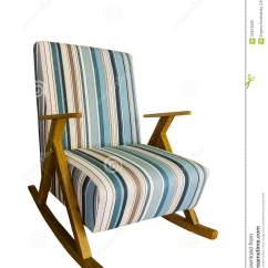 White Upholstered Rocking Chair Covers For Couch Stock Photo Image 55914629