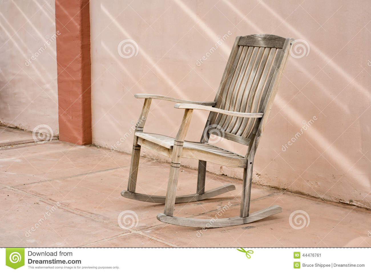 Chair In Spanish Rocking Chair Stock Image Image Of Wooden Rocking Spanish