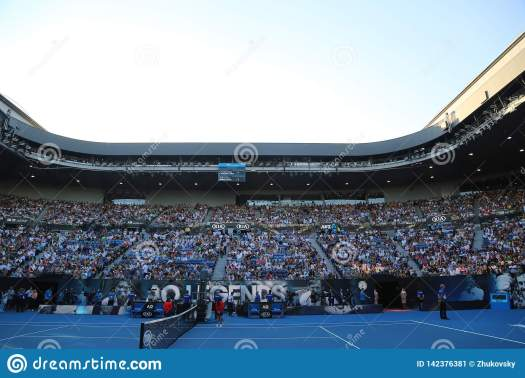 Rod Laver Arena During 2019 Australian Open Match At ...
