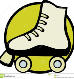 roller skate vector illustration vector illustration of a roller skate royalty free illustration [ 1300 x 1328 Pixel ]