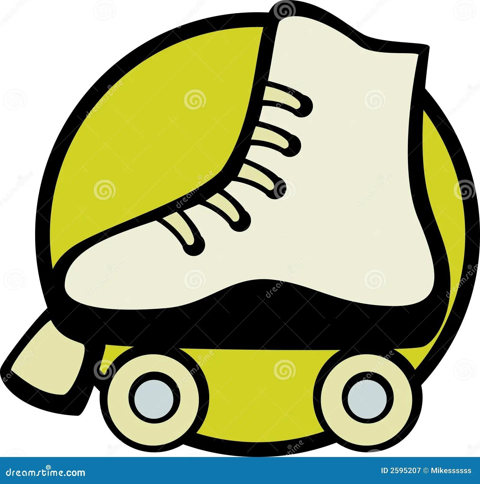 hight resolution of roller skate vector illustration vector illustration of a roller skate royalty free illustration