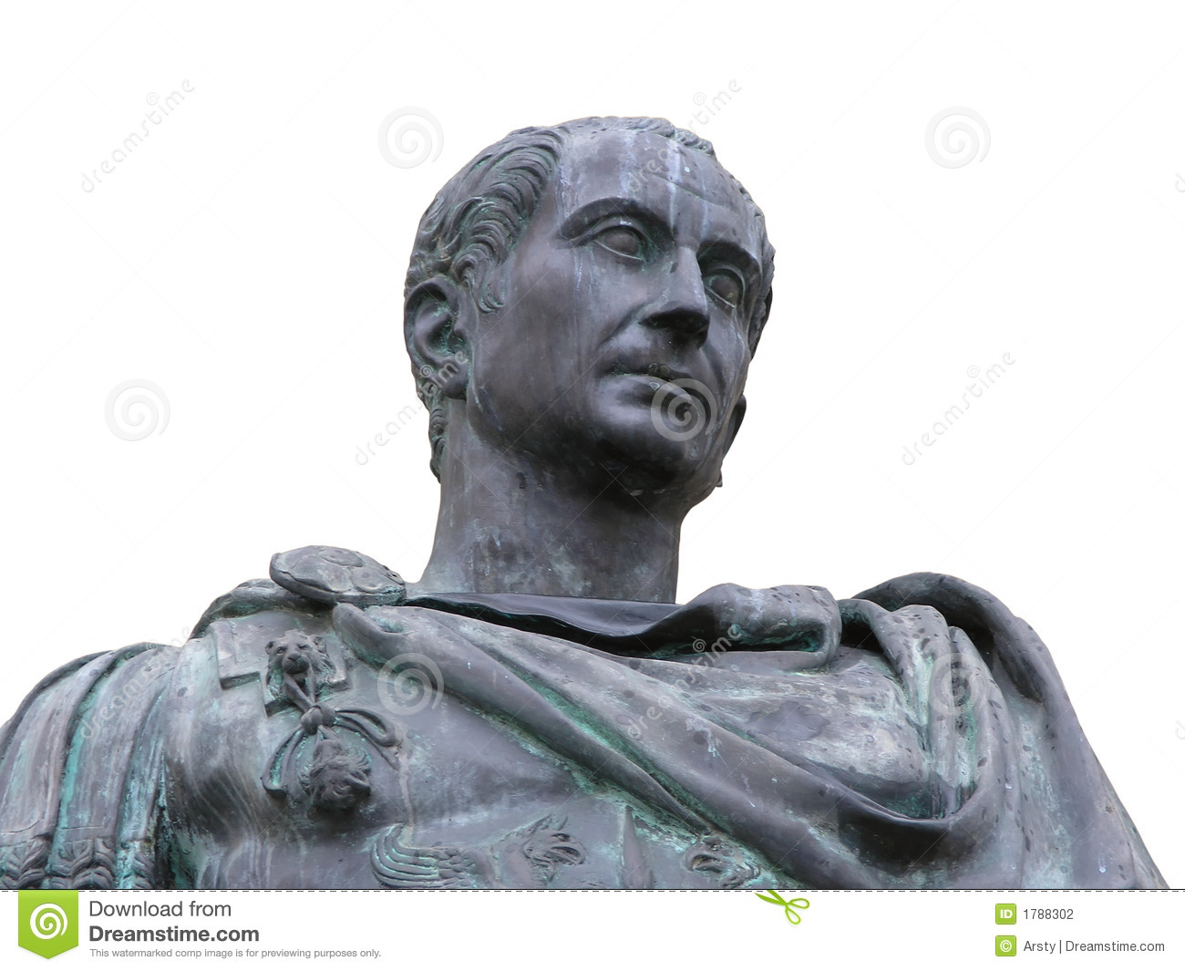 Roman Emperor Julius Caesar Stock Photography  Image 1788302