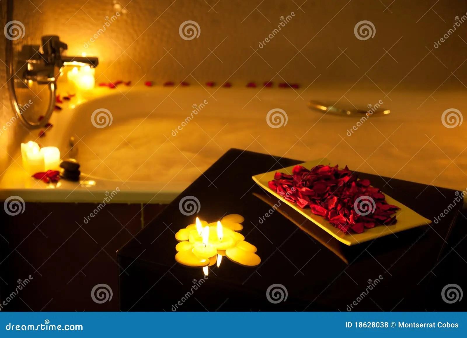 Romantic Bathtub Royalty Free Stock Photos Image 18628038