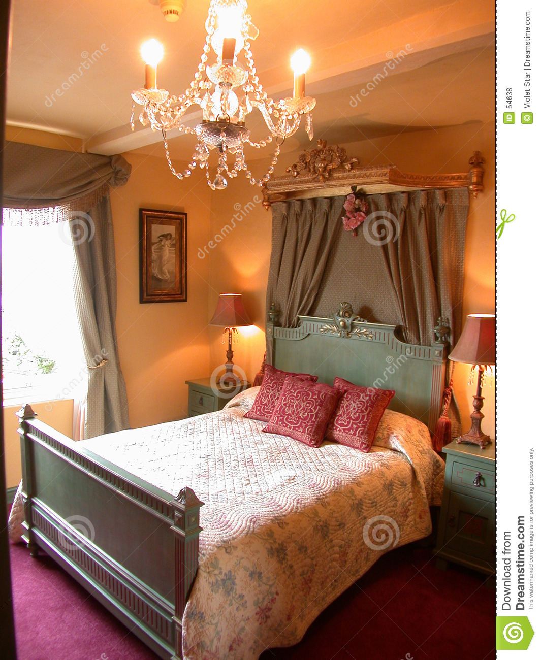 Romantic bedroom stock photo Image of romance bedroom