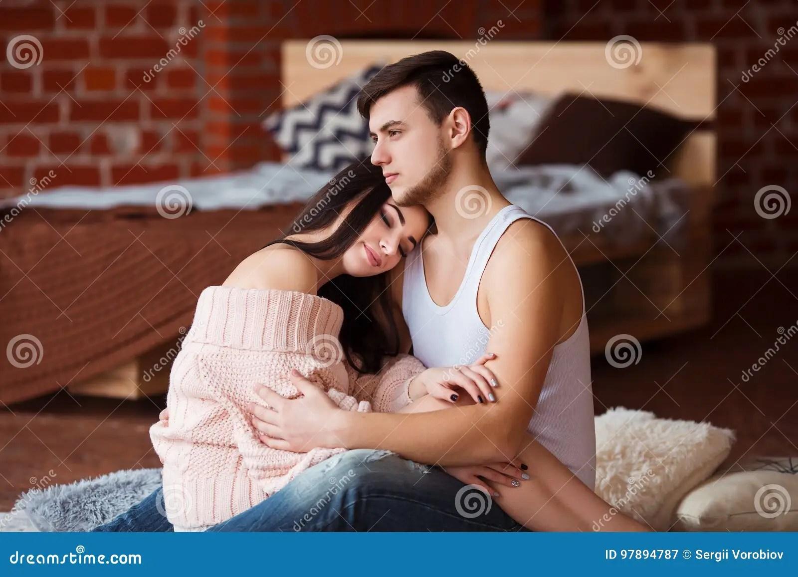 romantic couple passion time
