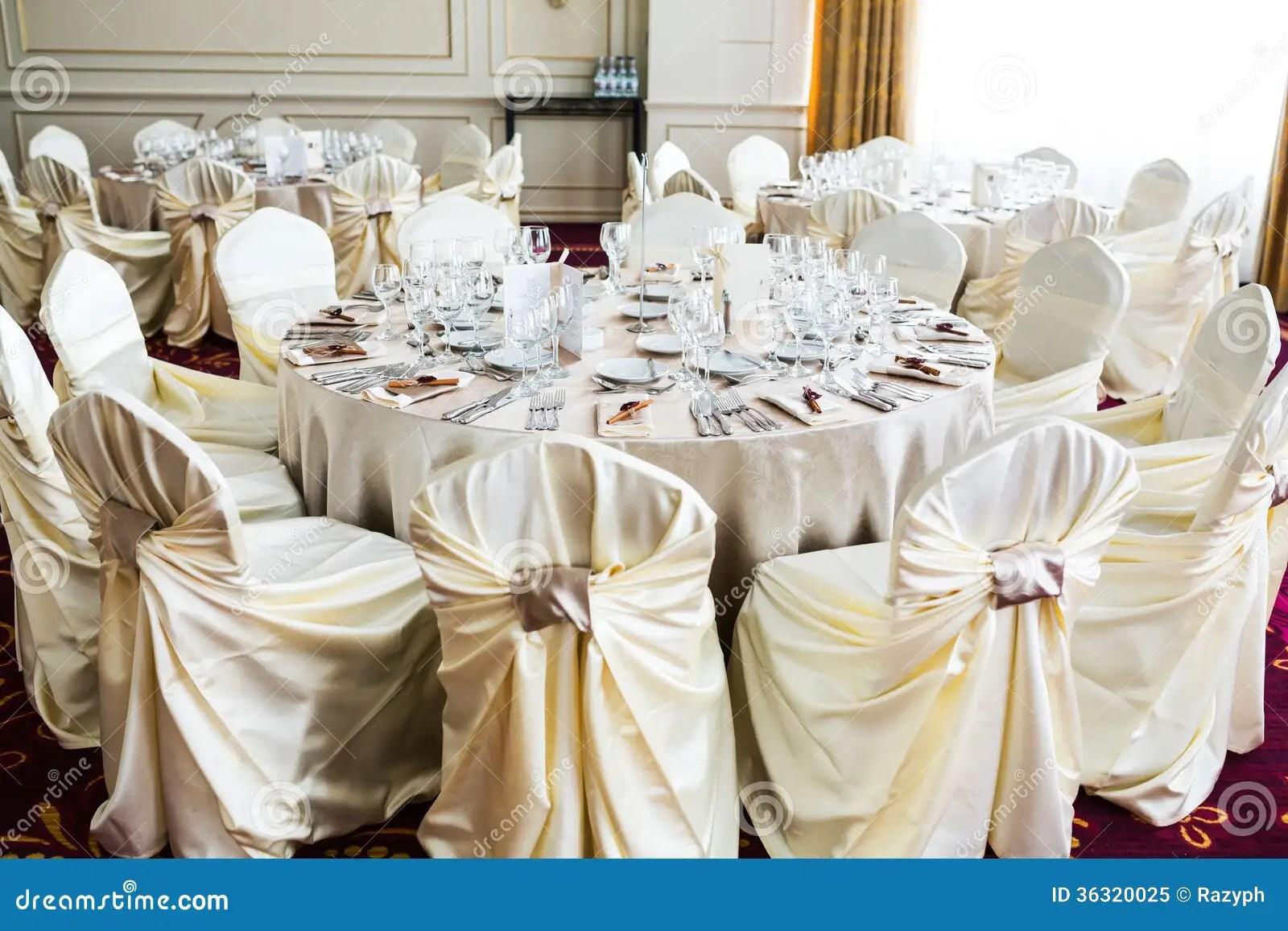 Romantic Wedding Setting Royalty Free Stock Photo  Image