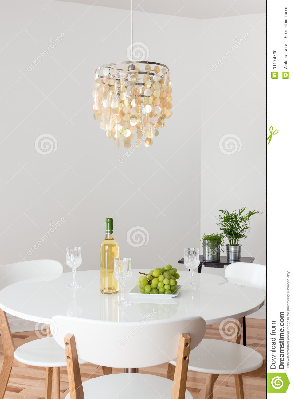 glass round kitchen table where to buy used cabinets room with decorative chandelier and white ...