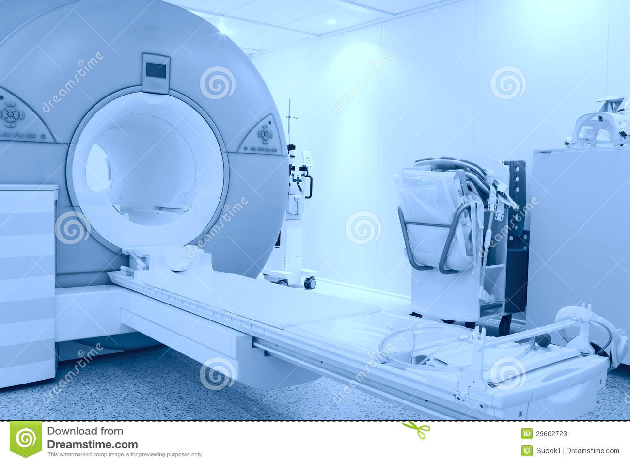 Room With Mri Machine Stock Image Image Of Healthcare