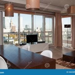 Lounge Chair Indoor Eddie Bauer Room View In Skyscraper Apartment Stock Photo - Image: 34605898