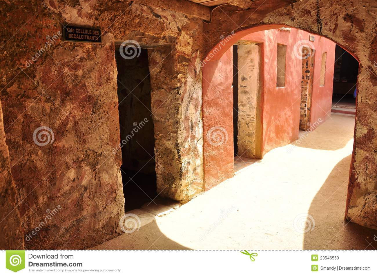 Rooms Of Slaves House Of Slaves  Senegal Stock Image  Image of island bronze 23546559