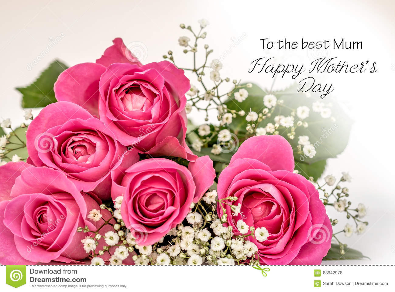 Sensational Quotes Wallpapers Roses Mothers Day Card Stock Photo Image Of Floral