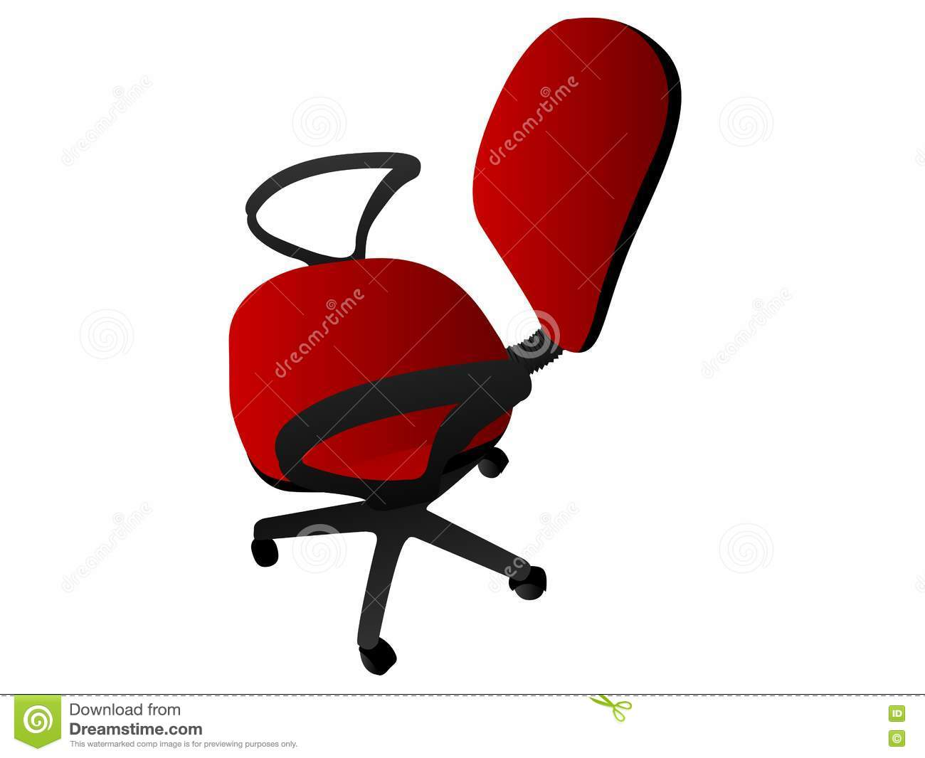 revolving chair used folding outdoor rotating office royalty free stock photography