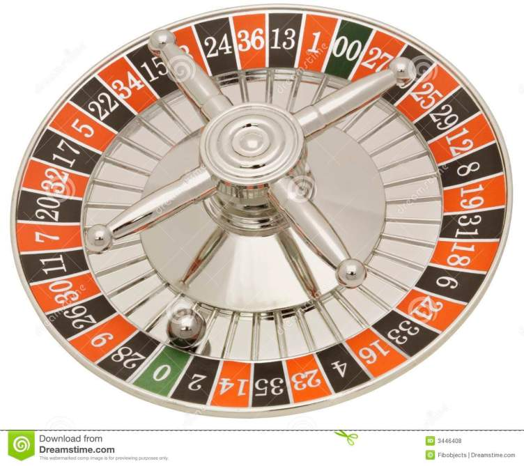 Roulette Wheel stock photo. Image of objects, path, chance ...