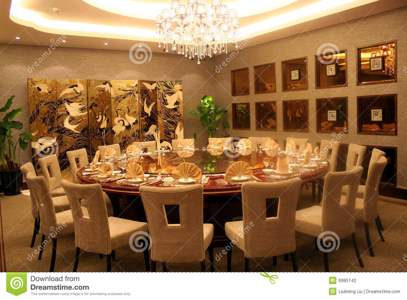 round table and chair set long beach banquet stock photo. image of furniture, inside - 6985142