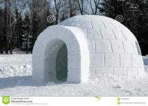 Eskimo Igloo House