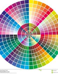Download round vector color chart stock illustration of publishing also rh dreamstime