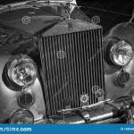 Rr Rolls Royce Black And White Retro Car Vintage Style Black And White Old Timer Stock Photo Image Of Vintage Royce 158009010