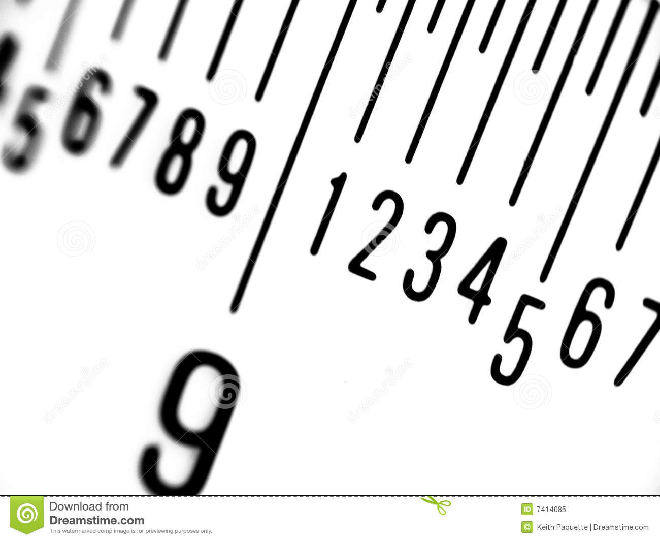 Ruler in Millimeters stock image. Image of illustrate