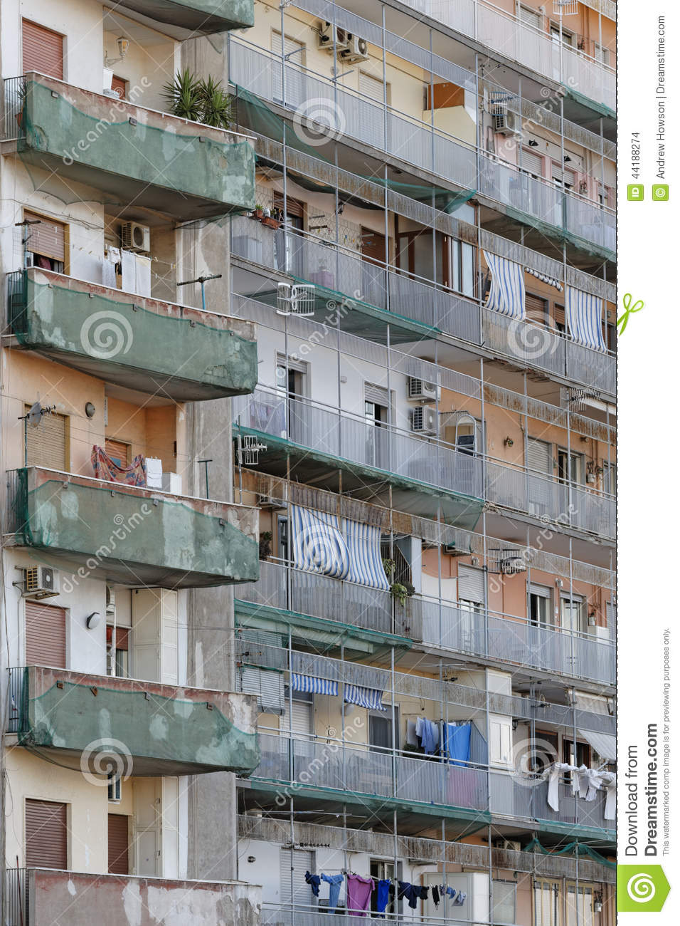 Rundown Residential Building Editorial Stock Image  Image 44188274