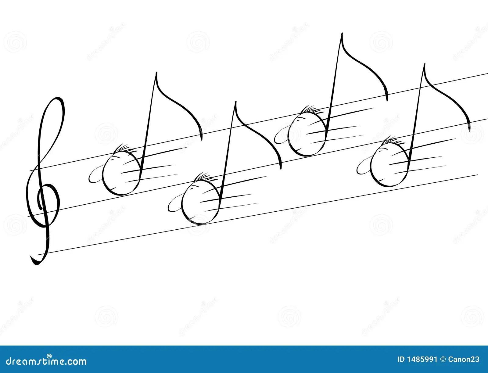 Running music stock vector. Image of sheet, sound