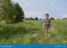 Rural Boys Barefoot