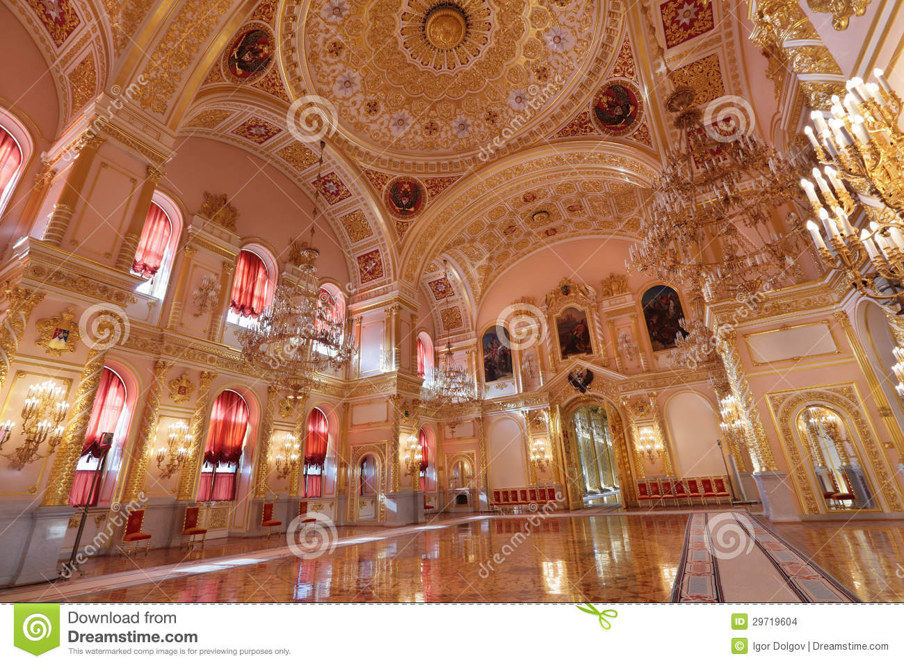 Grand Kremlin Palace stock photo Image of gala deluxe
