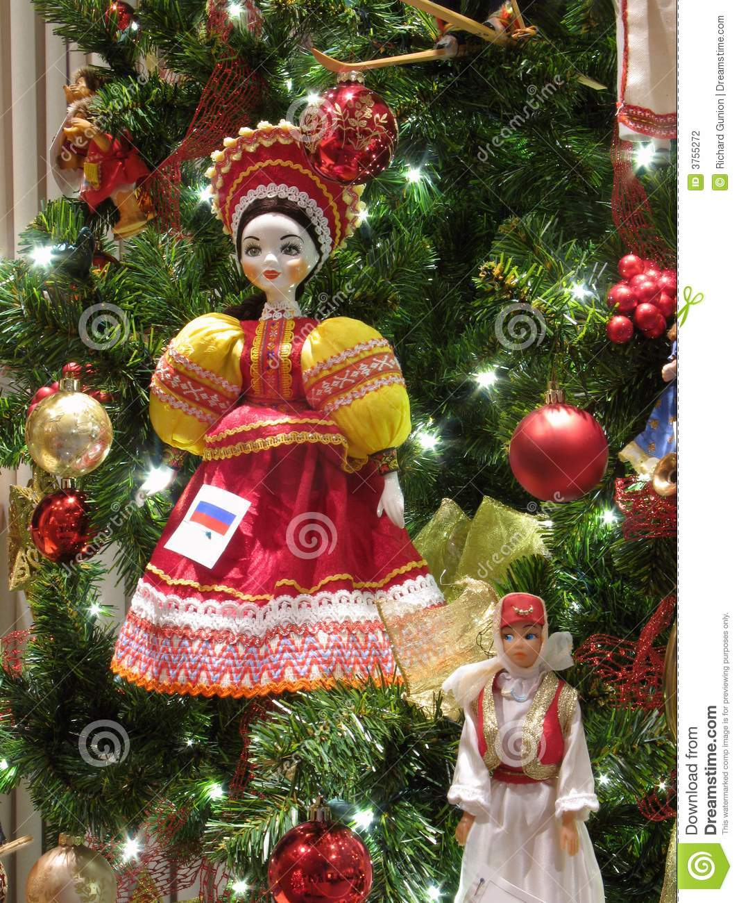 Russian Doll Ornament Stock Photo Image Of Seasonal