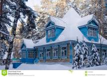 Russian Winter House