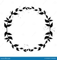 Rustic frame vector stock illustration Illustration of flower 125592676