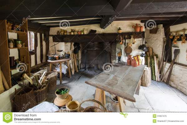 Rustic Kitchen Stock Of Culinary Estate