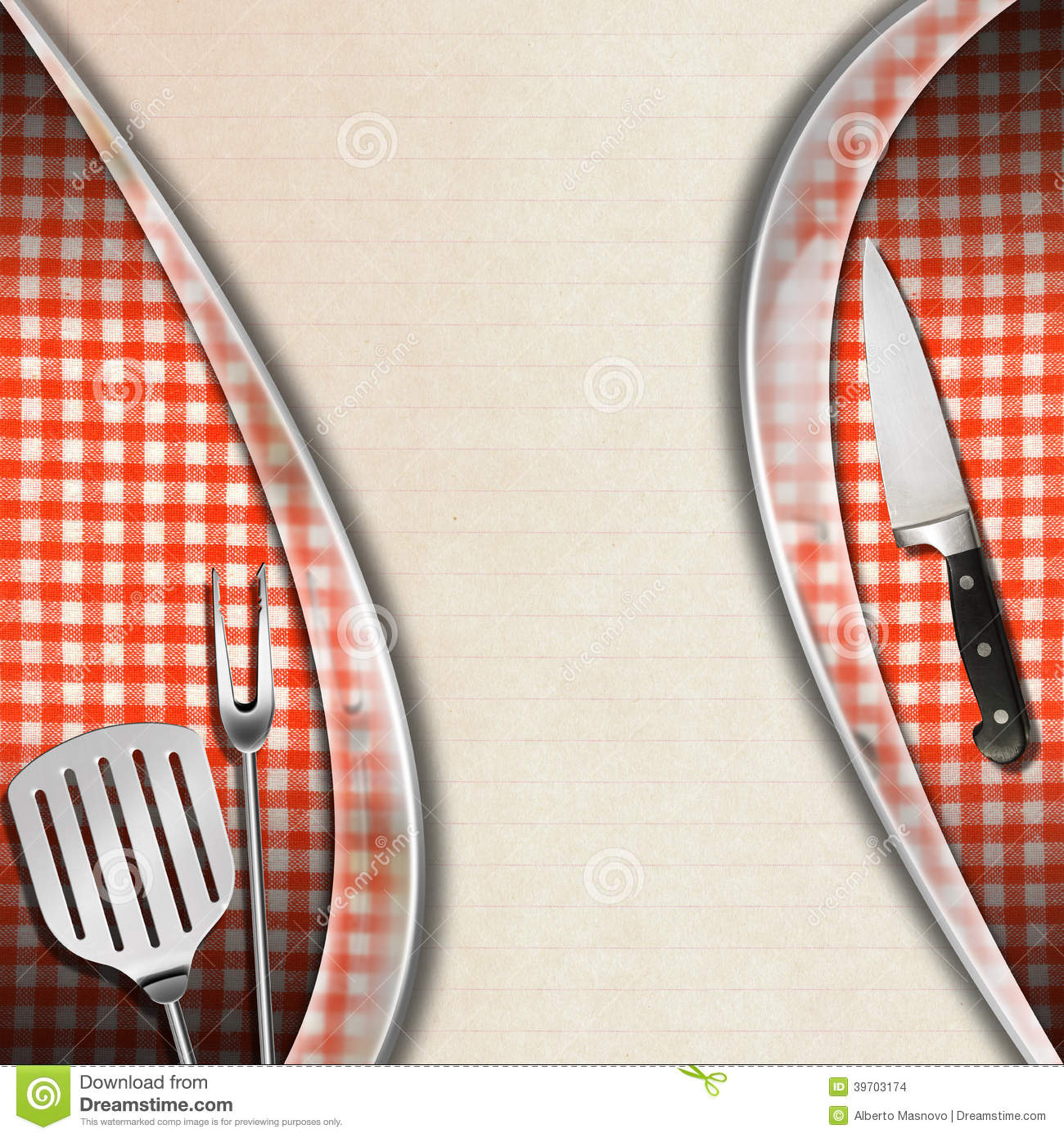 kitchen design template lights over table rustic and modern menu stock illustration ...