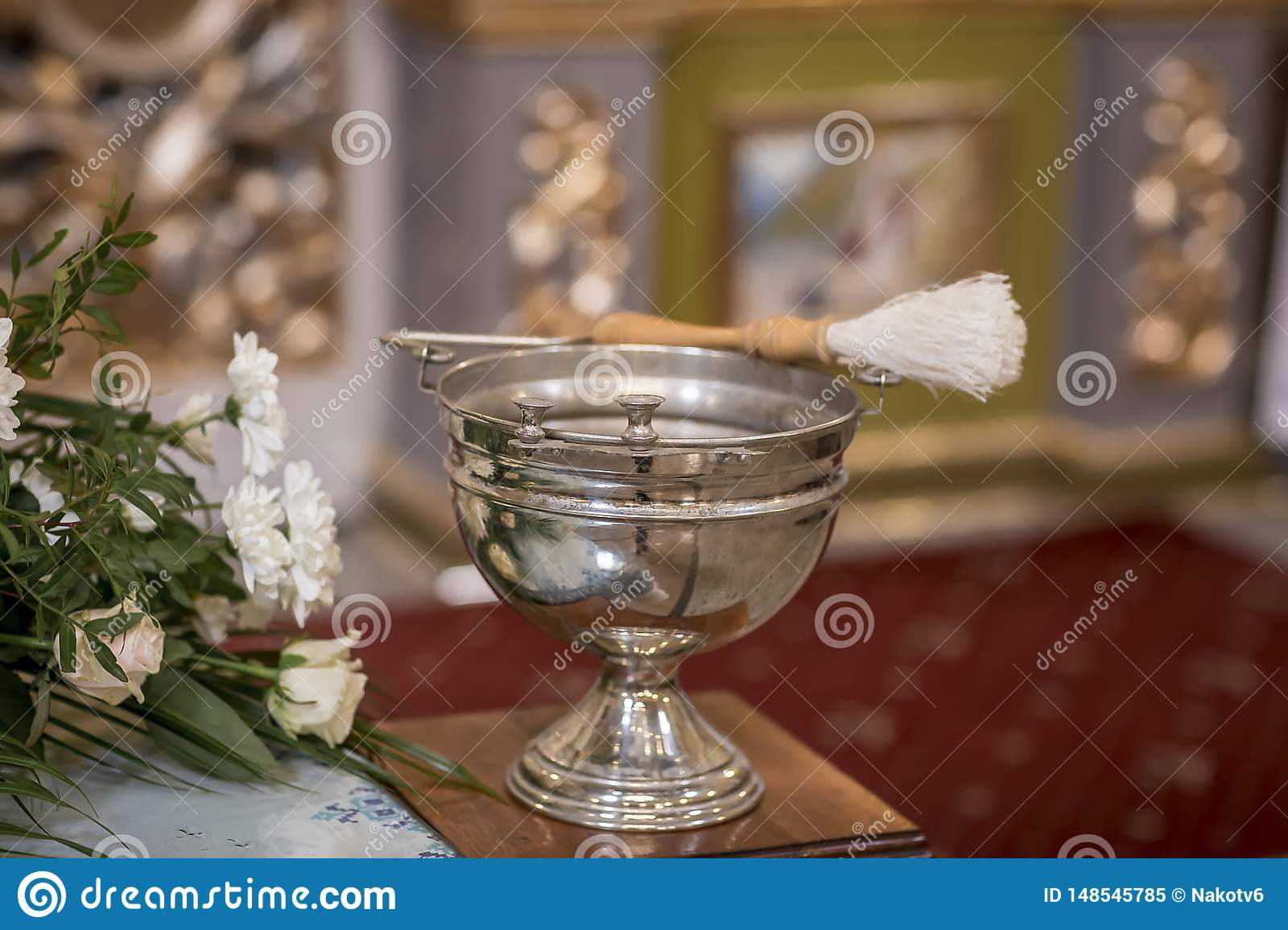 The Sacrament Of Baptism Attributes Of An Orthodox Priest