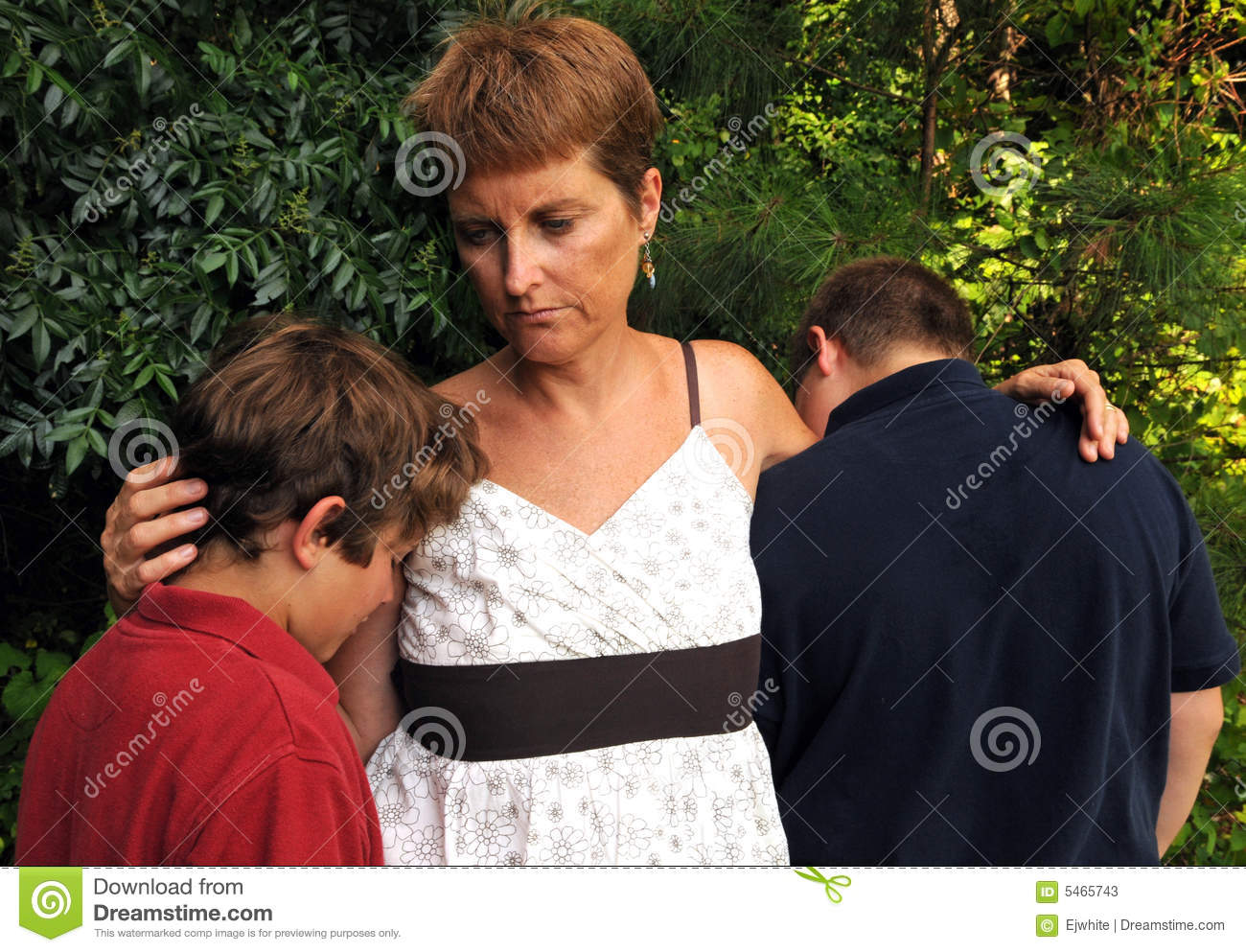 Sad Family Stock Photos  Image 5465743