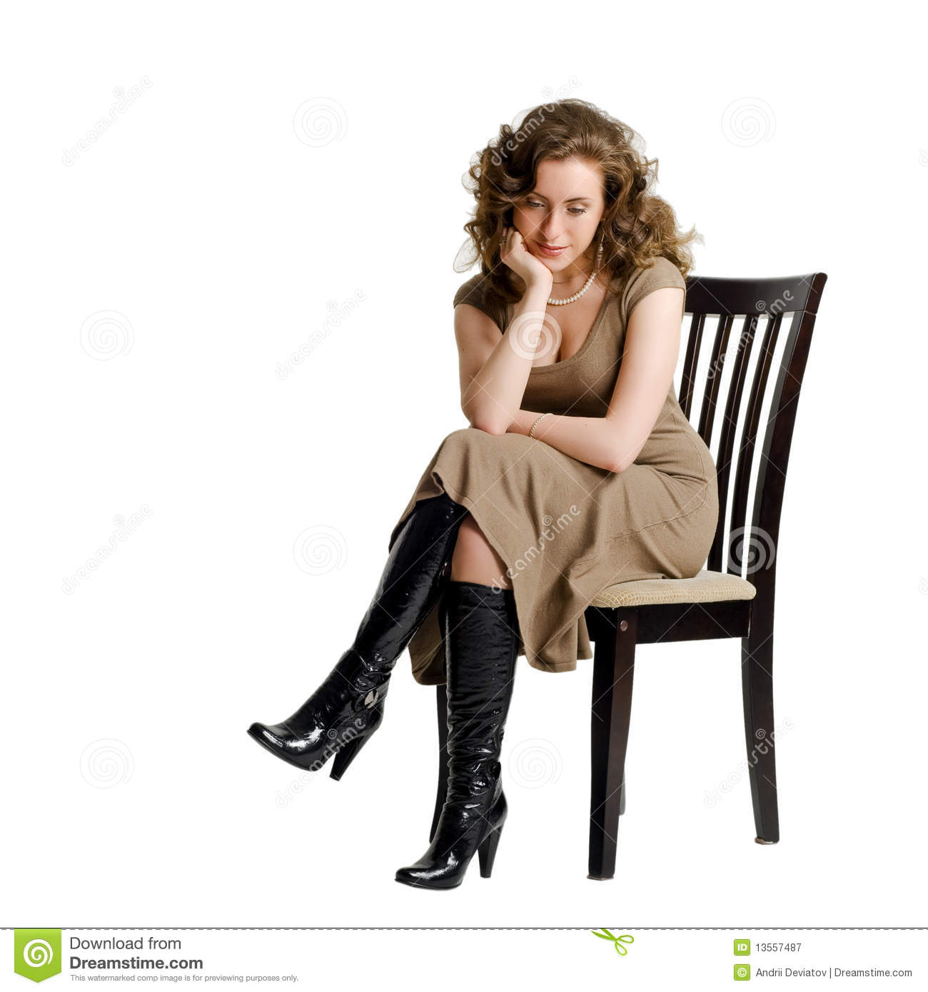 woman sitting in chair shower for elderly singapore the gallery gt person side png