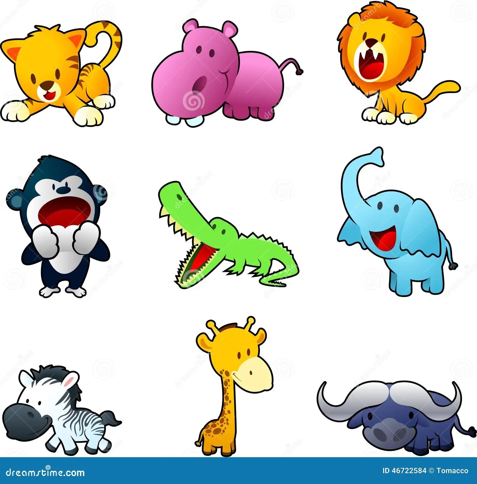 Safari Animals Stock Illustration Illustration Of Animals