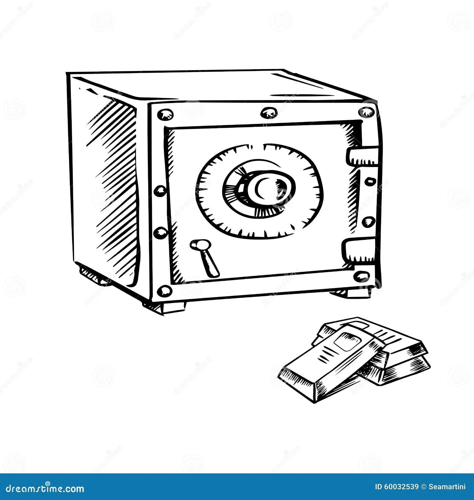 Gold Deposit Box