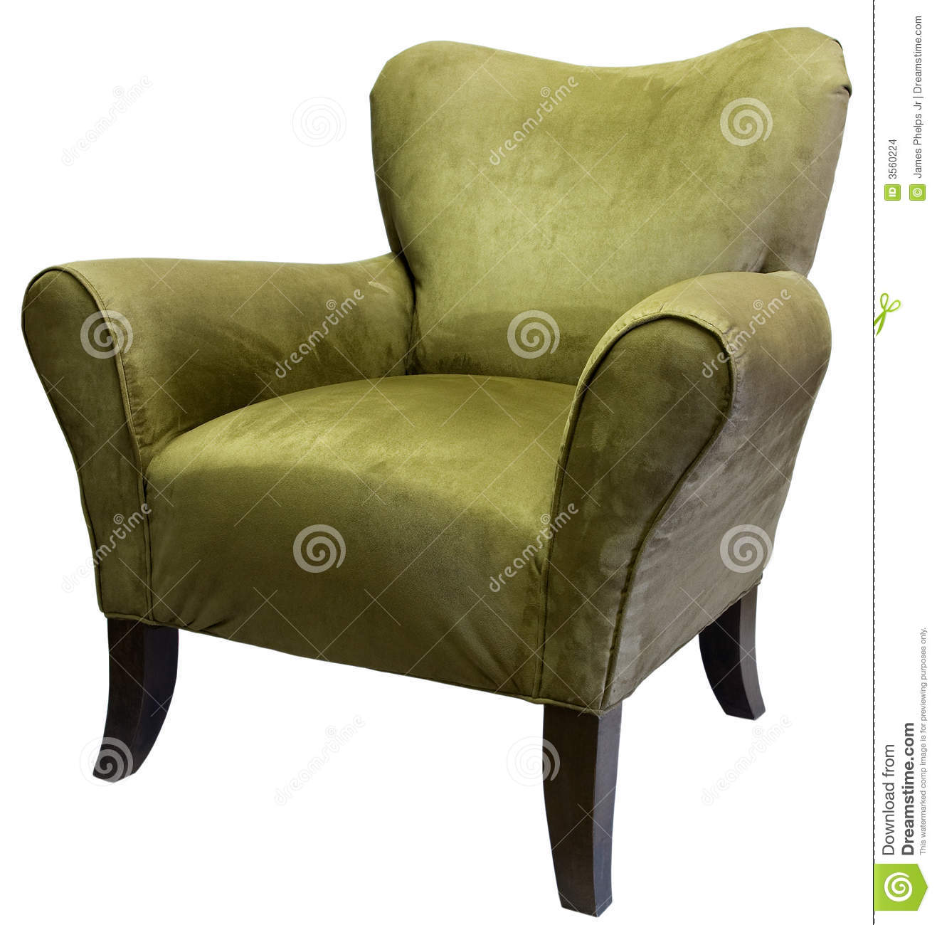 Lime Green Accent Chair Sage Accent Chair Stock Images Image 3560224