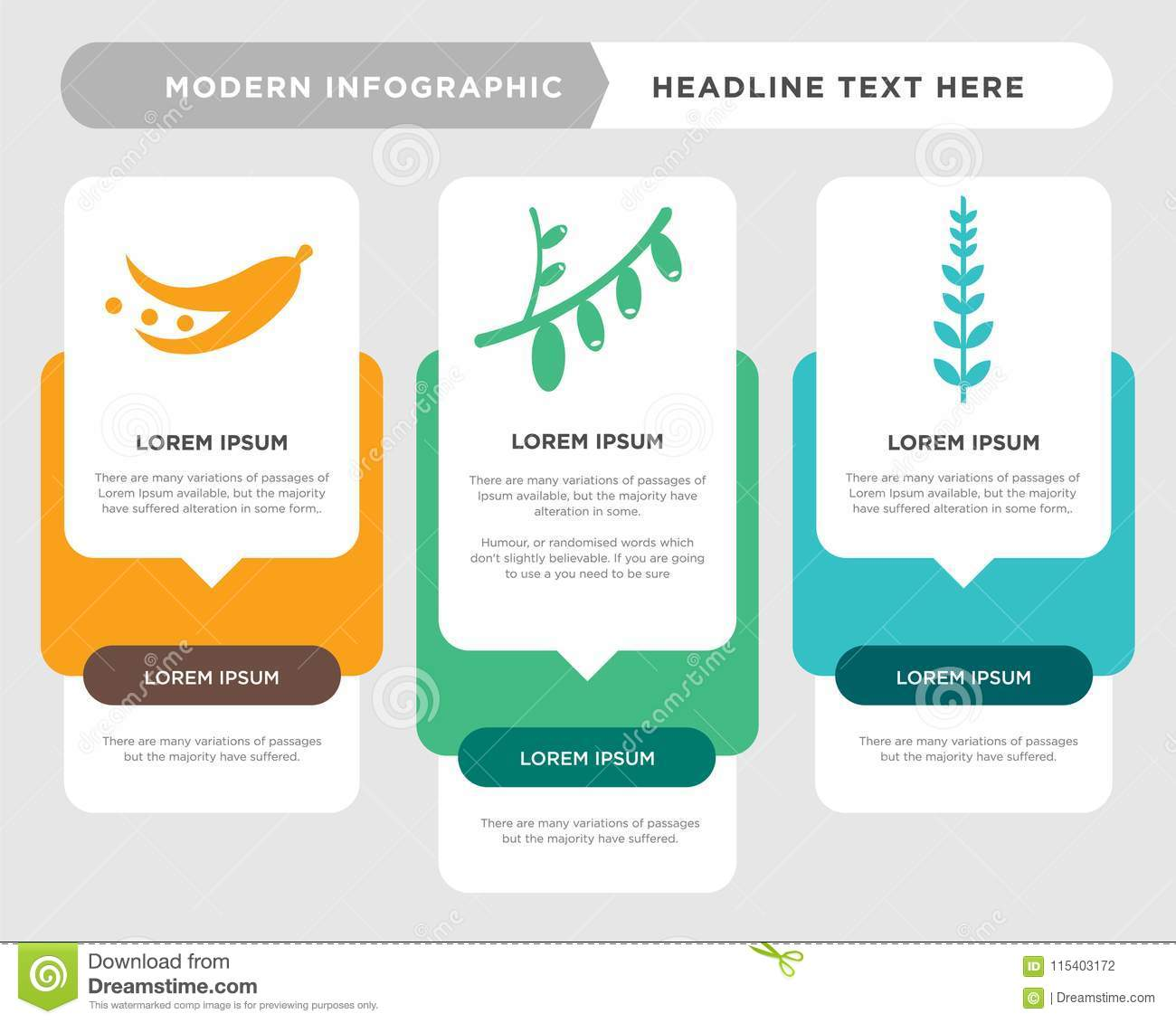 hight resolution of sage leaf business infographic template the concept is option step with full color icon can be used for cranberry cornelian cherry diagram infograph