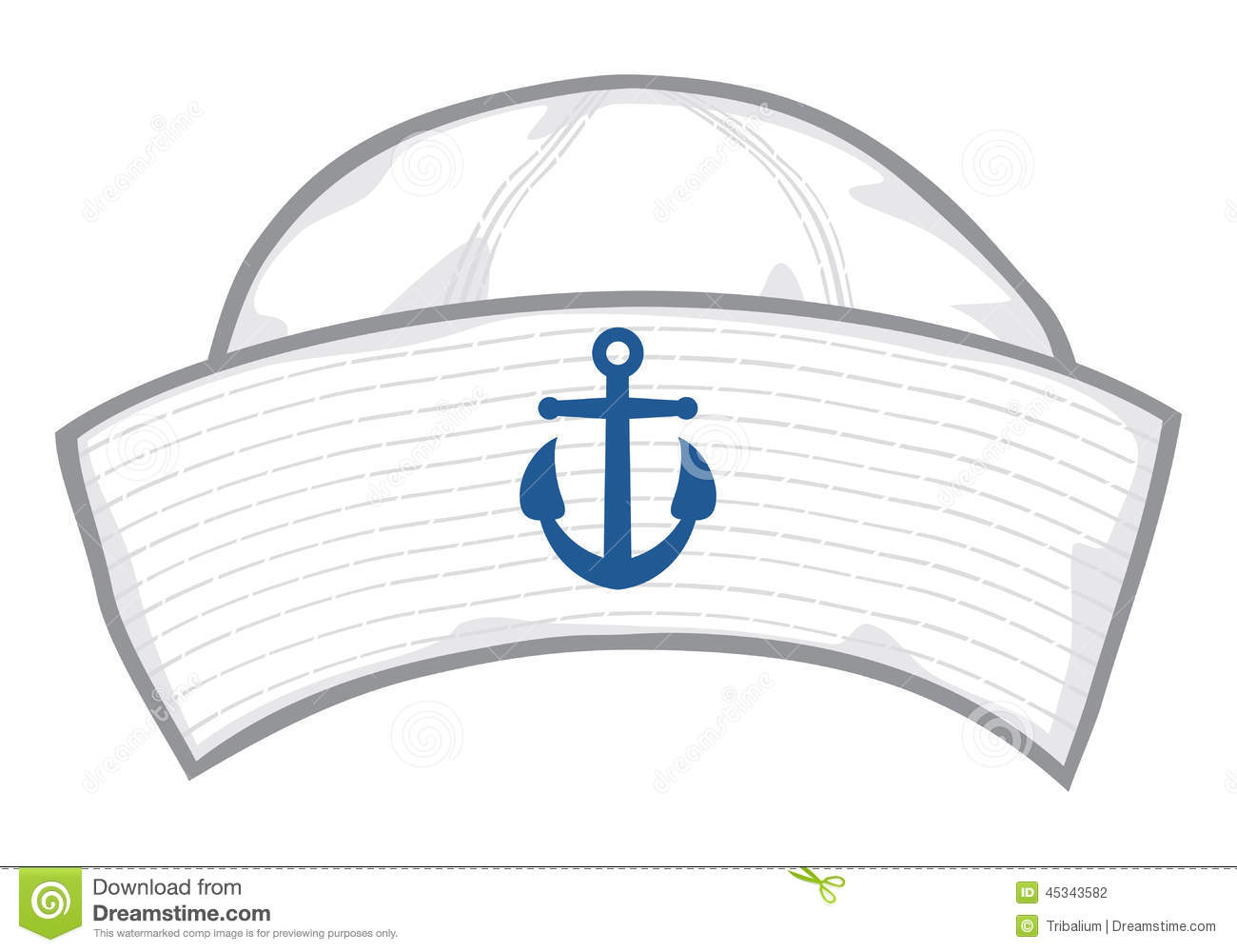 Sailor Cap Stock Vector Illustration Of Mariner Sailing